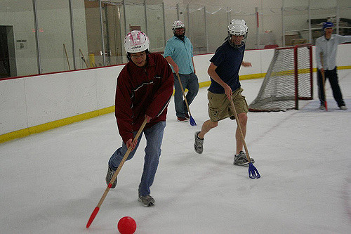 broomball leagues