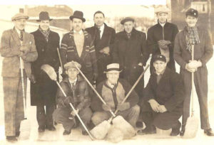broomball history early team minnesota