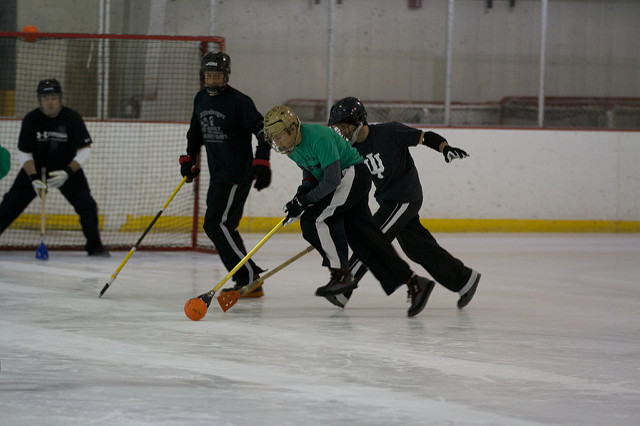 broomball equipment introduction for beginners