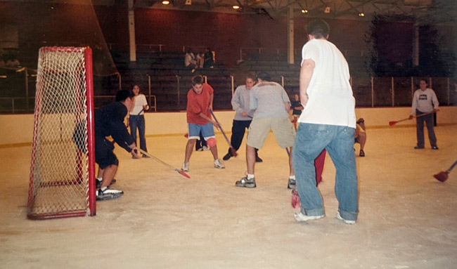 is broomball safe covid
